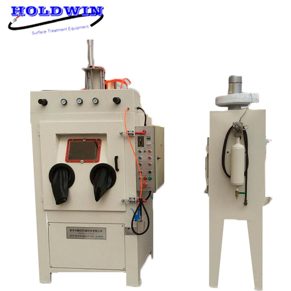 Suction sand blasting machine