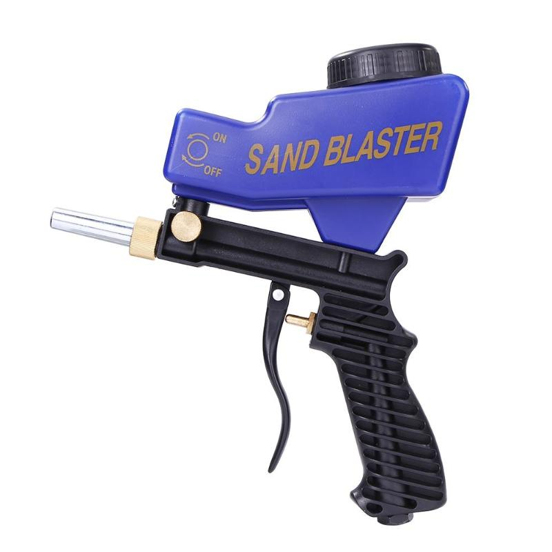 Hand held Sandblasting Gun Portable Pneumatic Abrasive Blasting Gun SJ-G08 Featured Image