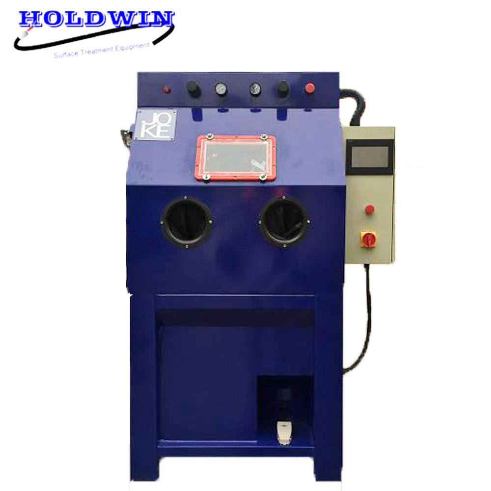 Holdwin CE Water Sandblasting Cabinet Wet Sandblast Machine Dustless Sandblaster Equipment Deburring Machine