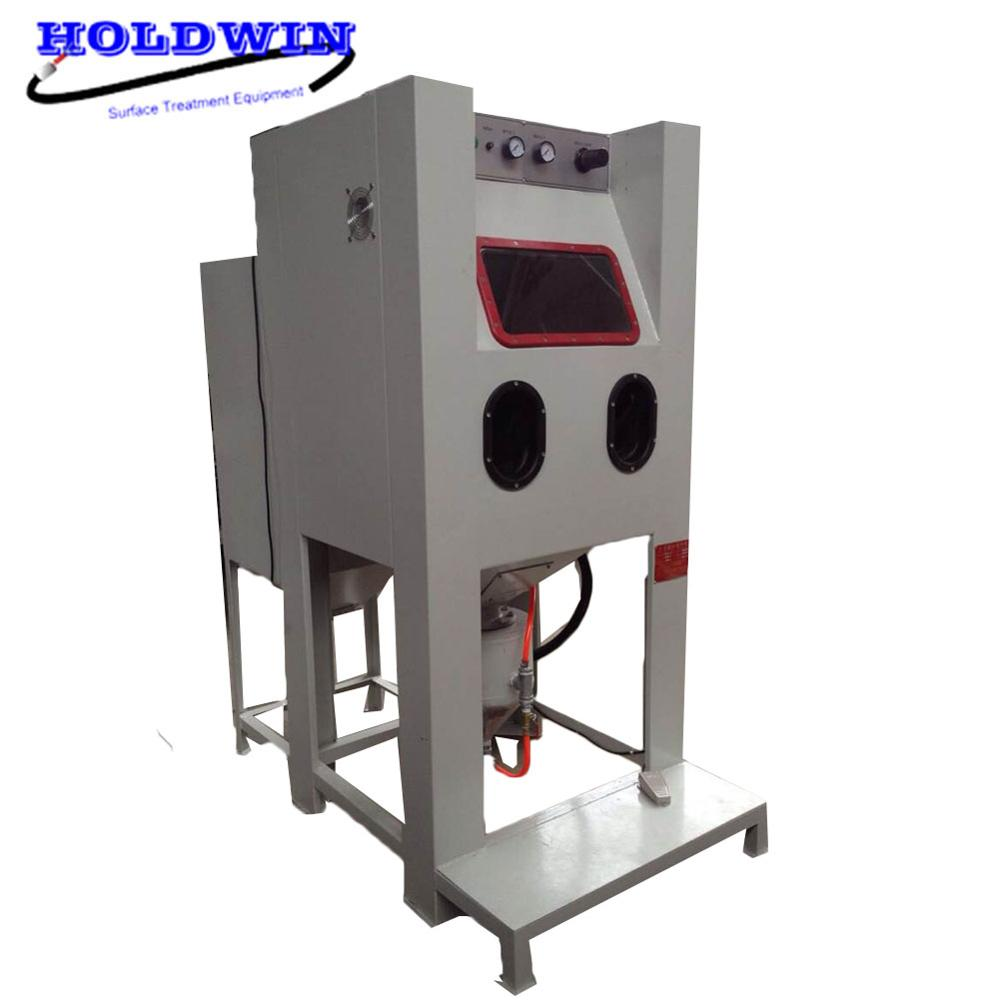 Holdwin High Pressure Soda Blasting Equipment Dry Sandblaster Cabinet Mold Sand Blast Machine