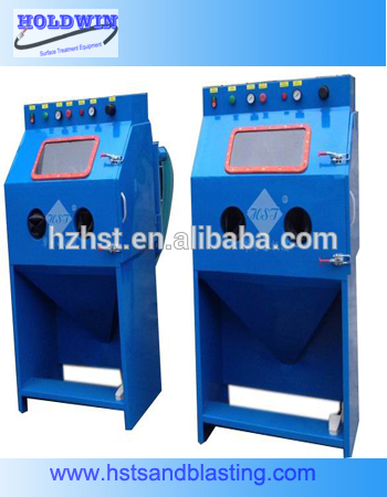 copper dry sand blasting machine HST9080A