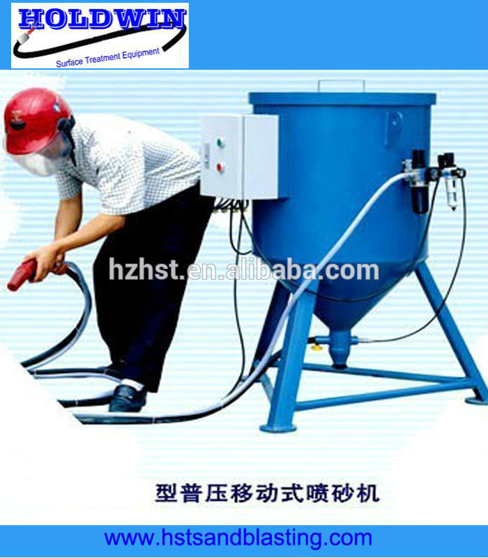 portable sand blasting machine siphon type sandblast machine