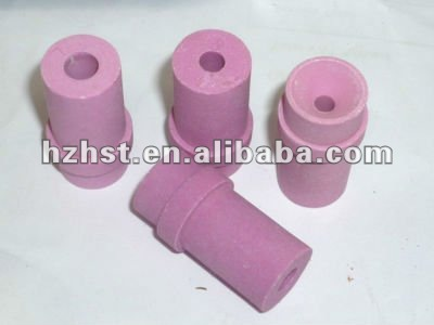 Ceramic nozzle for sandblasting