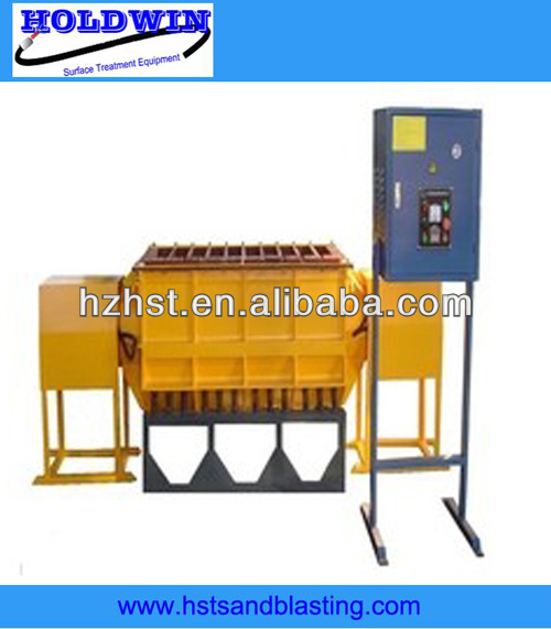 Linear type vibratory finishing machine 1200