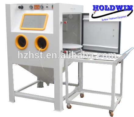 Dry sand blasting cabinet equipment HST-9060A