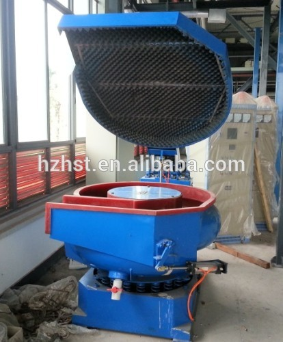 300L vibratory tumbling machine with lid