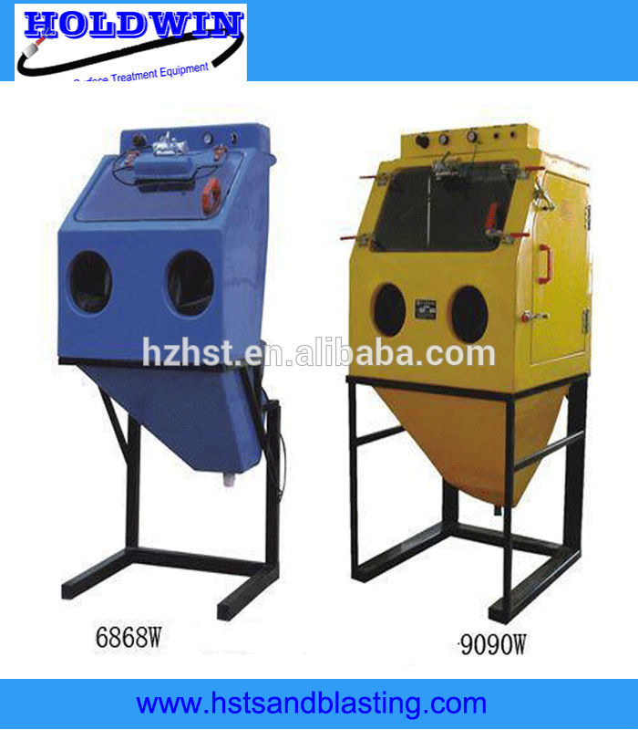 wet abrasive blasting water sand pump