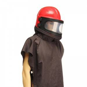 Sand Blasting Protective helmet with Air filter and Thermostat