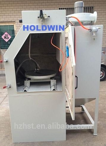 Dry sand blasting machine in sandblaster
