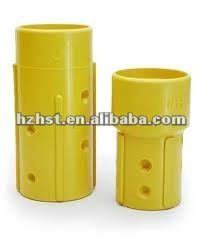 Nylon blasting nozzle holder