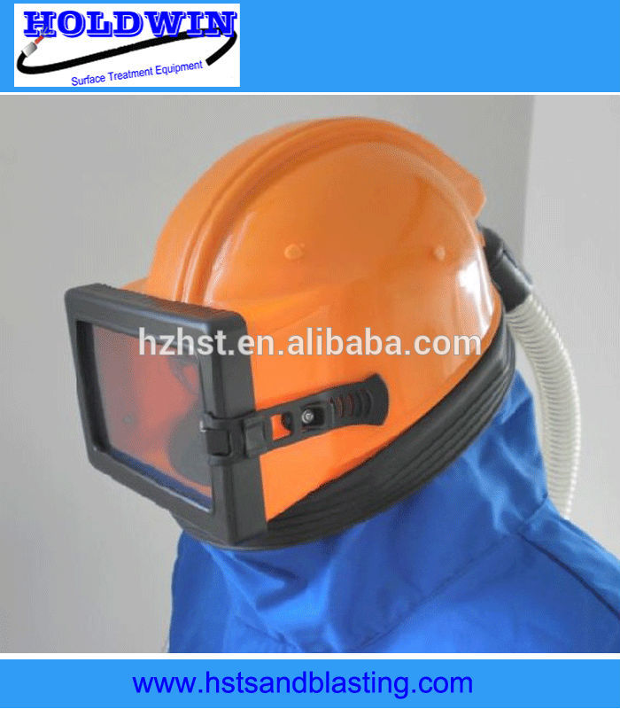 anti-dust helmet for sand blasting