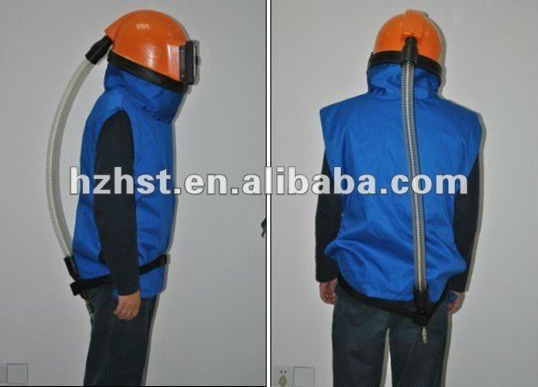 Sand blasting protection clothes