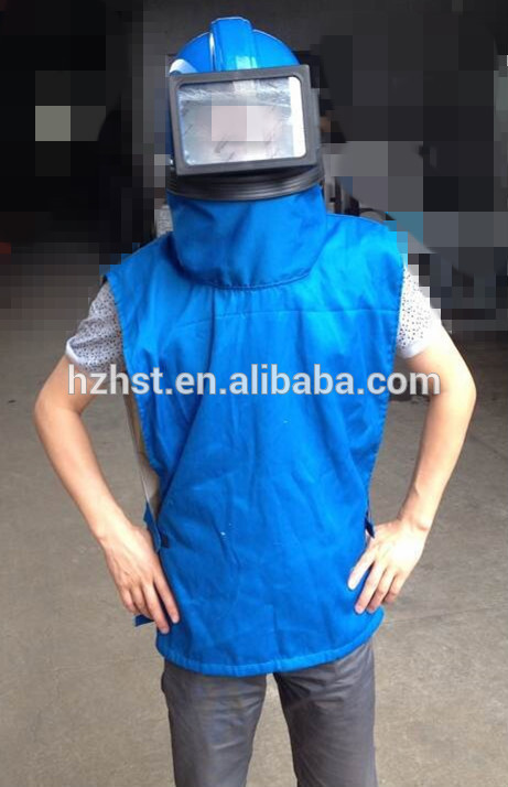 High quality Sand blasting mask with shoulder