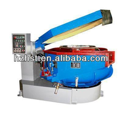Vibratory deburring and polishing machine 300L with separator