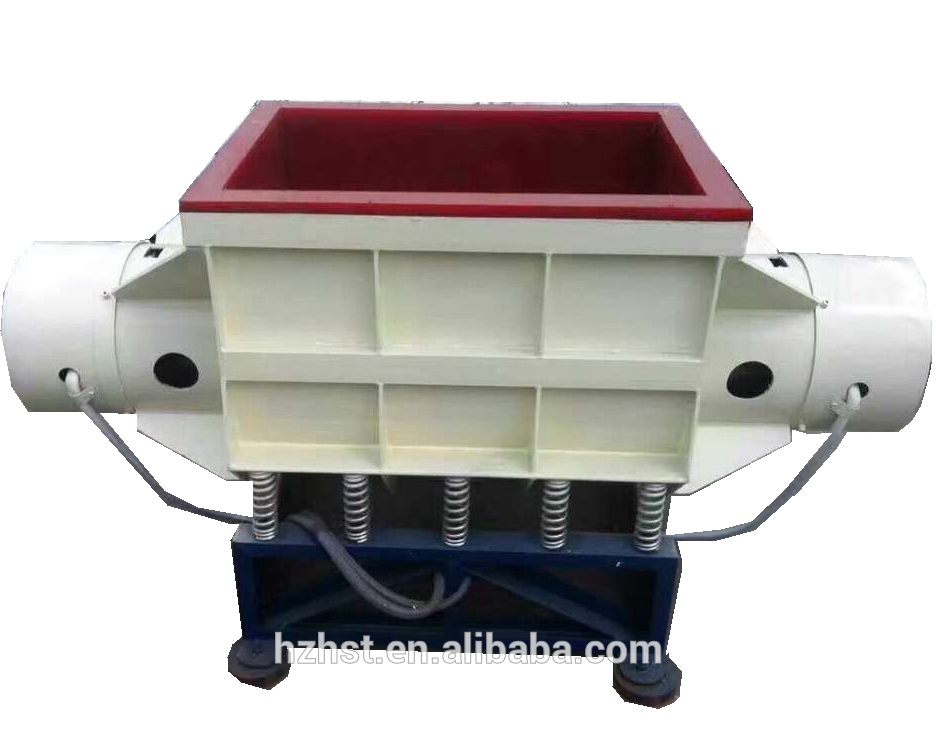 Straight Channel Vibratory Finishing Machine for Stone Polishing