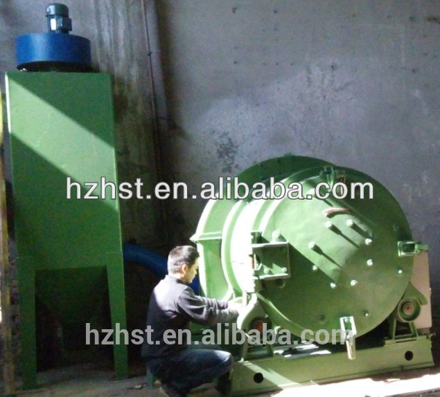 Automatic Drum shot blasting machine Q3110