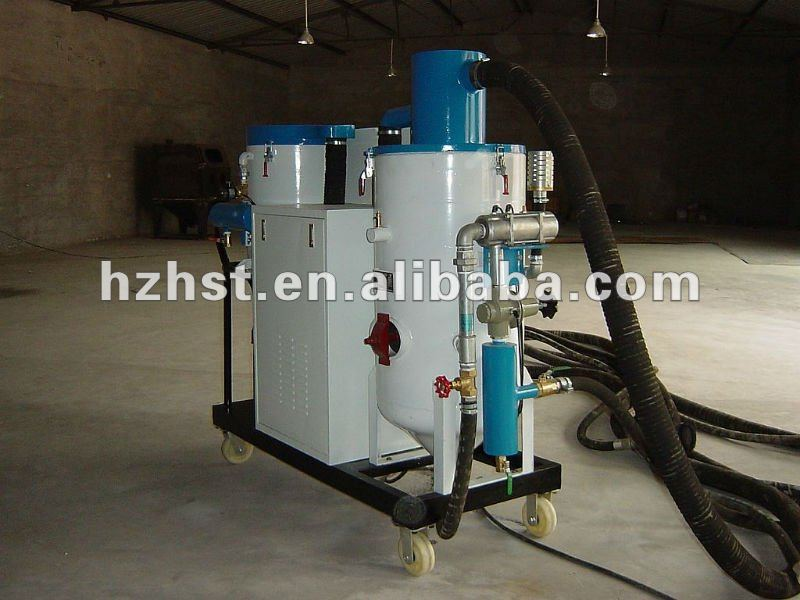 Remote control automatic recycle sandblasting machine