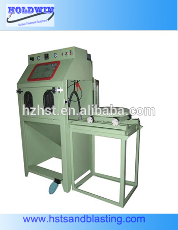 aluminum wheels sand blasting machine