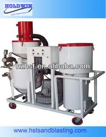 No pollution outdoor automatic sandblast machinery