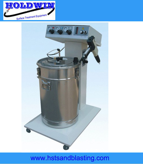 Powder spraying machine 801