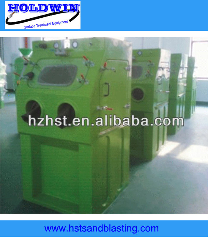 vapour sandblast equipments wet blasting