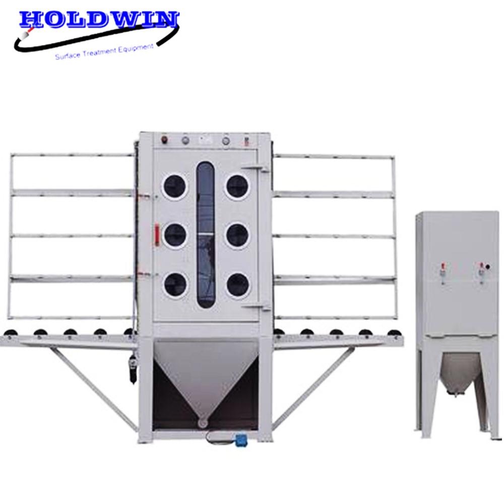 Glass sandblasting machine