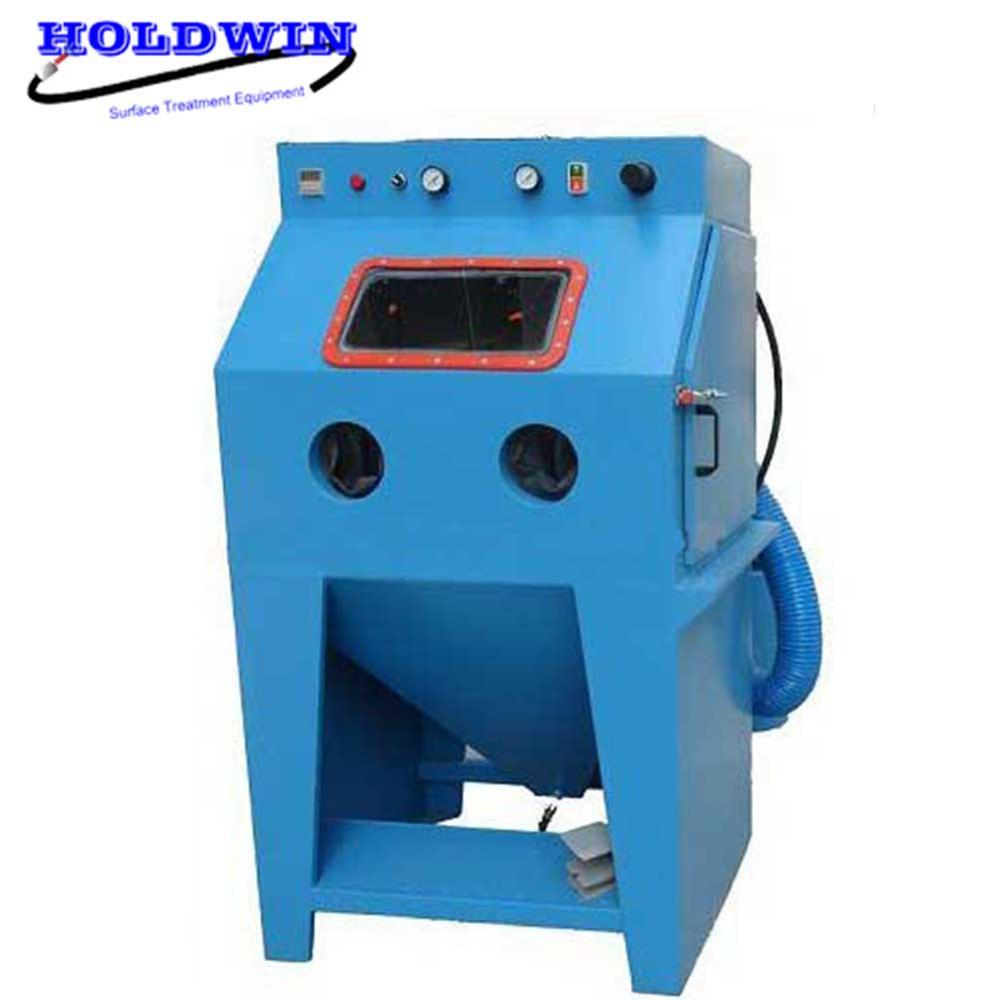 Holdwin dustless sandblasting machine wet sand blast cabinet