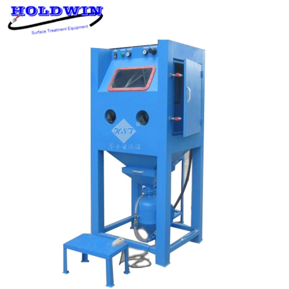 Holdwin High Pressure Sandblasting Cabinet Dry Sand Blasrter Machine Mold Soda Blasting Equipment