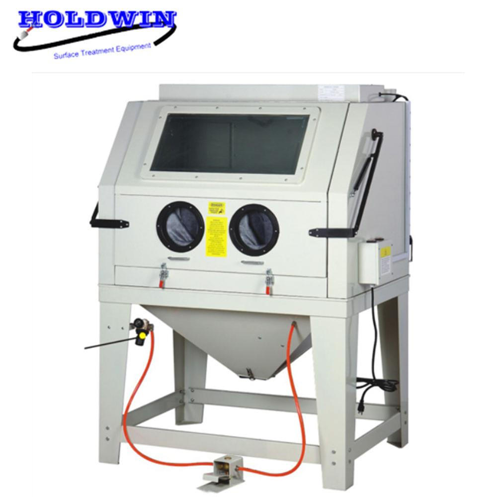 Holdwin CE Portable Sandblaster Light Molding Sandblasting Machine Mini Sandblast Cabinet