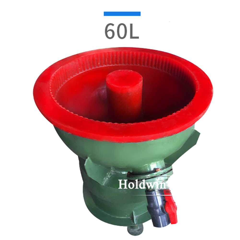 Small vibratory tumbler for polishing stones 60L 80L 100L150L
