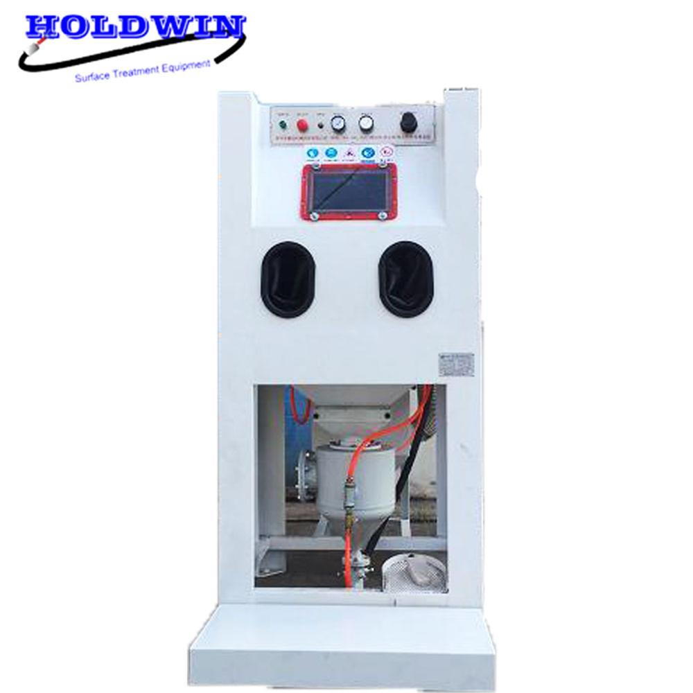 Holdwin CE High Pressure Sand Blaster Machine Dry Soda Blasting Equipment Mold Sandblasting Cabinet