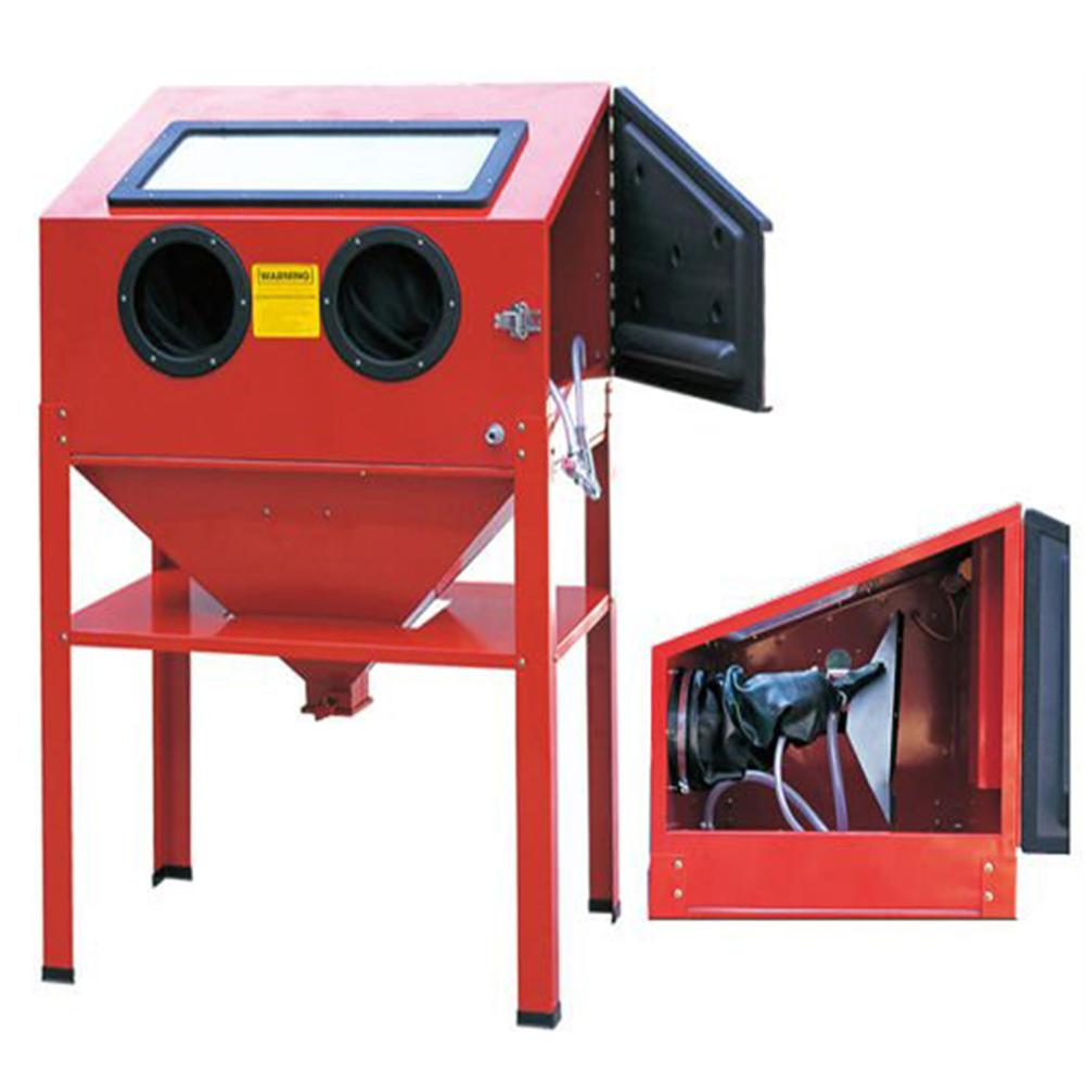Holdwin Mini Sandbalst Machine Sandblaster Cabinet for Rust Remove Sandblasting SBC220