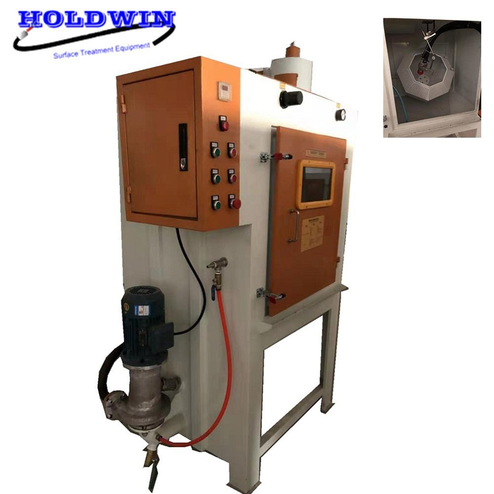 Holdwin automatic drum sand blasting equipment wheel sandblast machines portable sand blaster machine