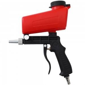 Portable Sandblasting Guns 90psi Adjustable Small Blasting Machine Derusting Sandblasting Spray Set