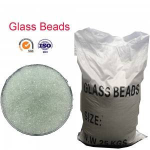 Glass beads abrasive