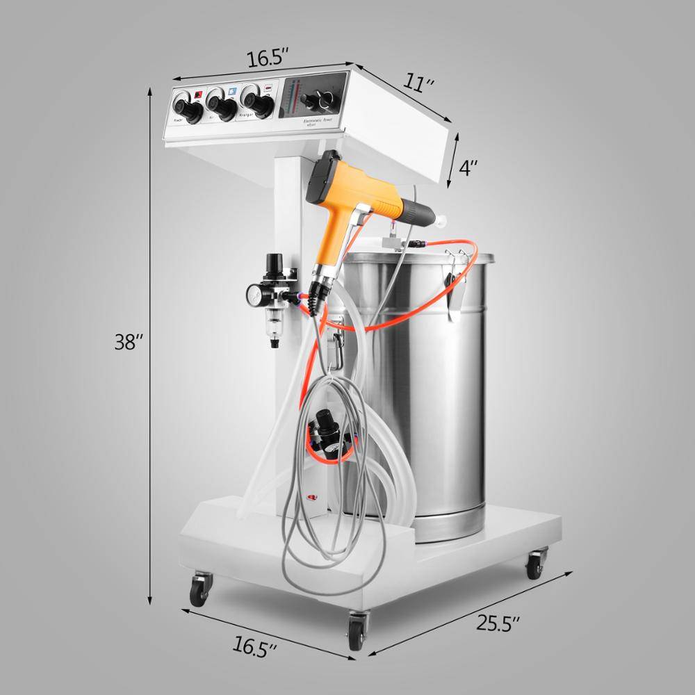 Electrostatic Powder Coating Machine Featured Image