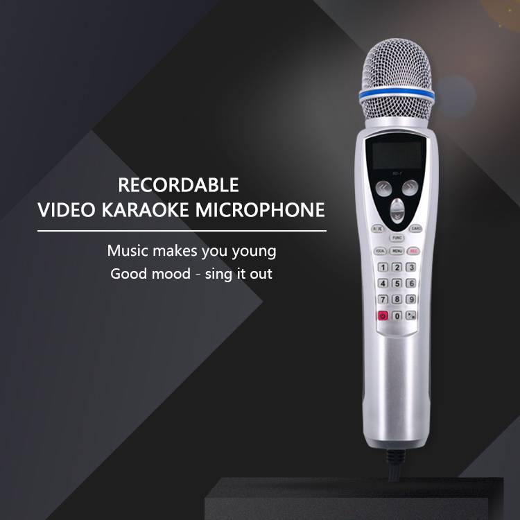 karaoke microphone player handheld mini videoke kids magic sing record player Featured Image