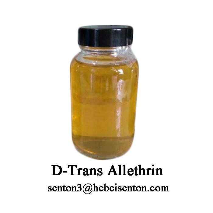 Yellow To Dark Brown Viscous Liquid D-Trans Allethrin