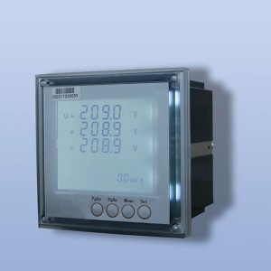 Three phase LCD embedded digital display multi-function electronic energy meter with rs485