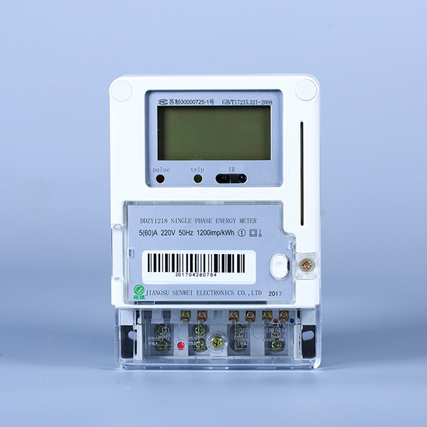 Single phase electronic energy meter Featured Image