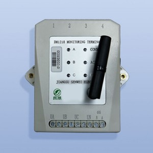 Electric energy efficiency monitoring terminal (4 channels)