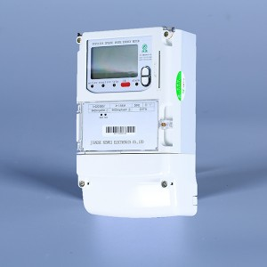 Three phase electronic energy meter(carrier, lora, gprs)