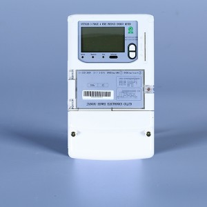 3Phase 4wire prepaid energy meter(ic card)