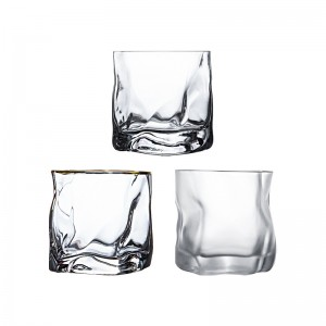 Glass cup for milk juice wine