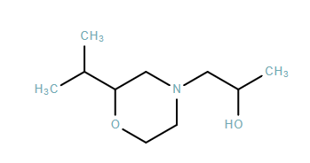 4-Morpholineethanol,α-methyl-2-(1-methylethyl)-