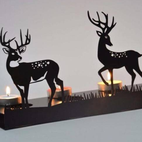Decorative DEER Metal Candle holder Featured Image