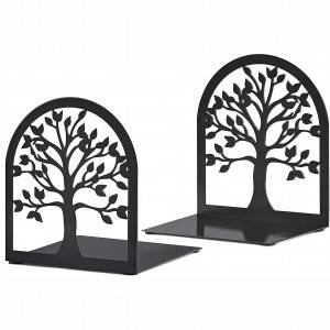 Tree of life Metal bookends