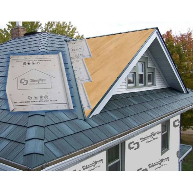 3-Ply Synthetic Roofing Underlayment