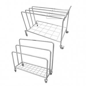 Wrapping cloth trolley