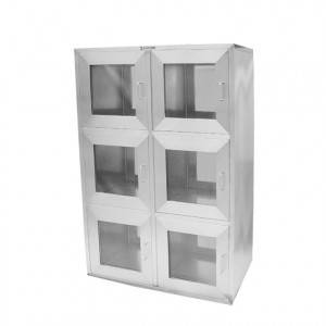 Double door interlock transfer window(Six units)
